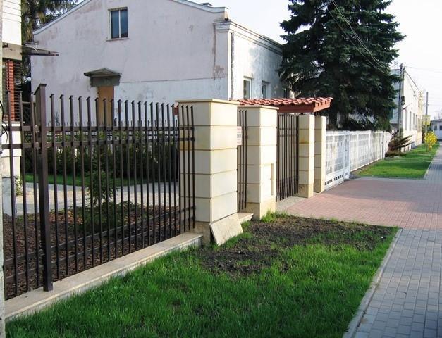 elewacje, ogrodzenie 115